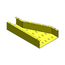 iFLEX Cable Tray, Offset Left Reducer Unit