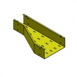 iFLEX Cable Tray, Offset Right Reducer Unit