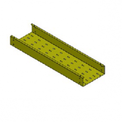 iFLEX Cable Tray, Straight Unit