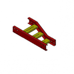 xTRUK Cable Ladder, Offset Right Reducer Unit