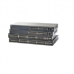 24/48-Port Managed Ethernet Switch with PoE+